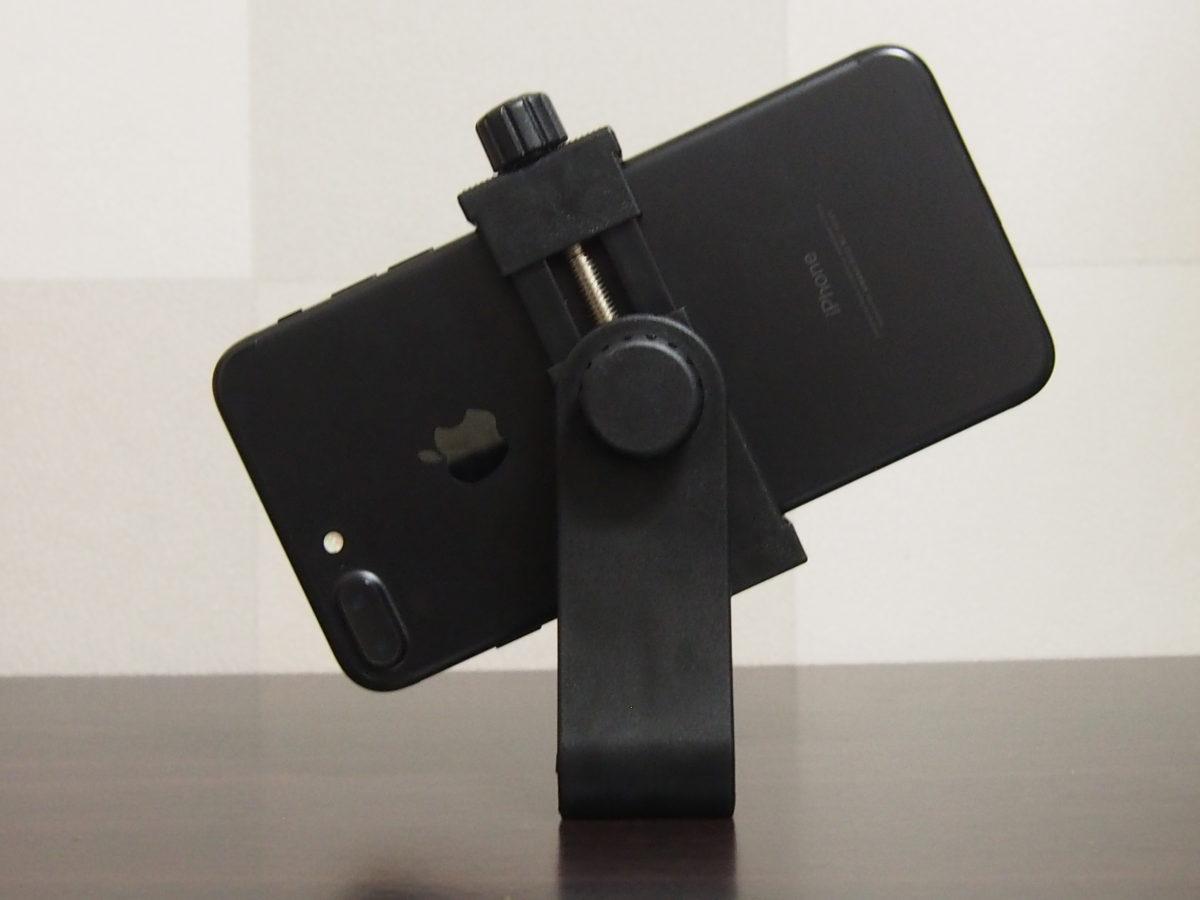 iPhone7plus用三脚ホルダー